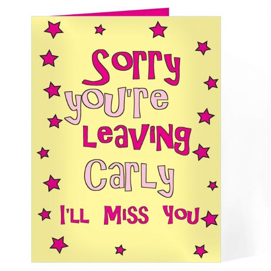 Leaving Cards